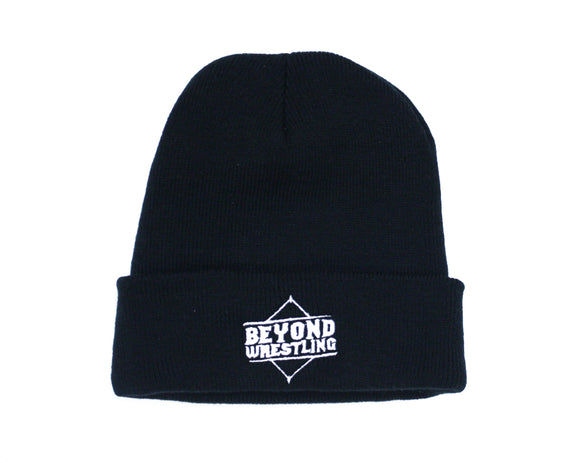 Beyond Wrestling Diamond Logo Beanie