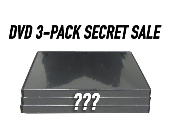 DVD 3-Pack Secret Sale