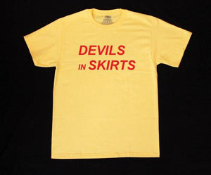 """Devils In Skirts"" T Shirt"