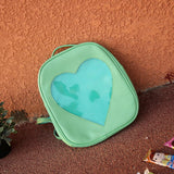 Transparent Heart Backpack