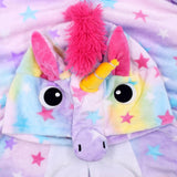 Cozy and Fun Cartoon Unicorn Onesie