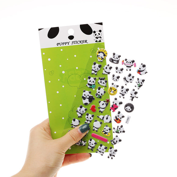 Panda Sticker Set (3 pcs)
