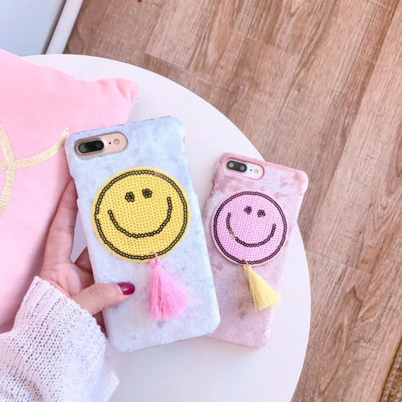 Happy Face iPhone Case