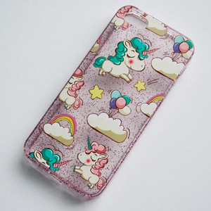 Kawaii Unicorn iPhone Case