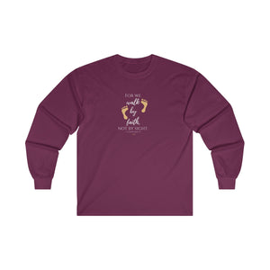 2 Corinthians 5:7 Ultra Cotton Long Sleeve Tee