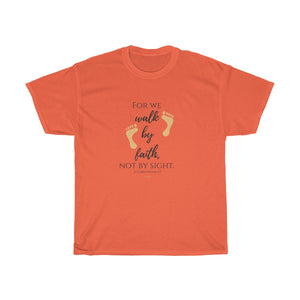2 Corinthians 5:7 Heavy Cotton Tee