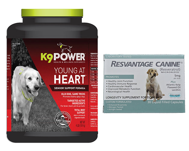 Young at Heart & Resvantage Canine Combo Pack