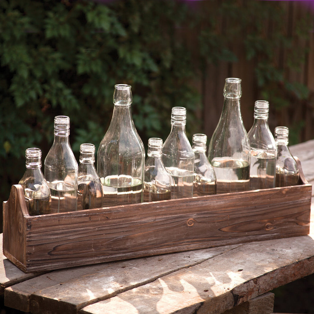 Boxed Bottles Centerpiece