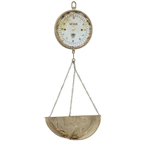 Decorative Metal Hanging Produce Scale