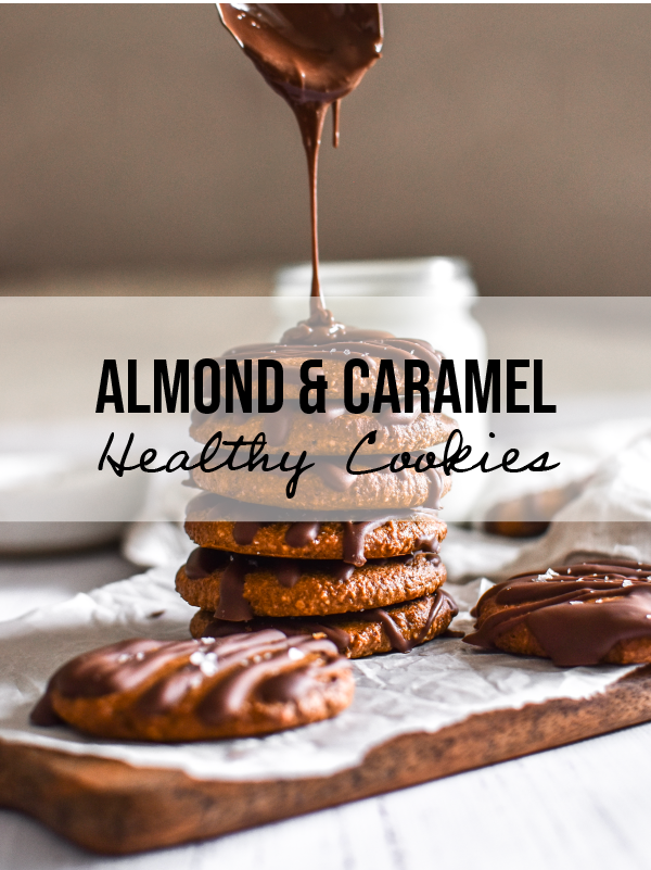 Healthy Almond Caramel Cookies