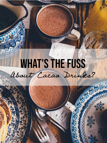 Have You Tried These Raw Cacao Drinks? Spark Dust & Vitality Dust