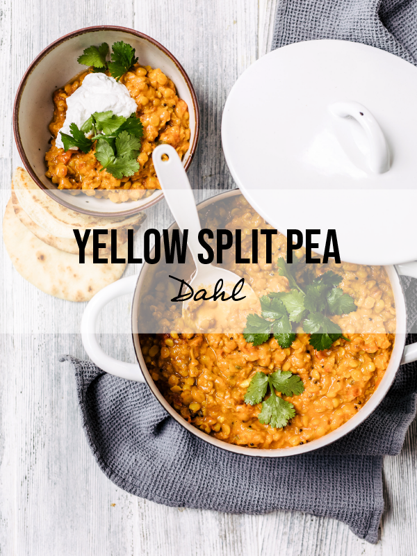 Yellow Split Pea Dahl