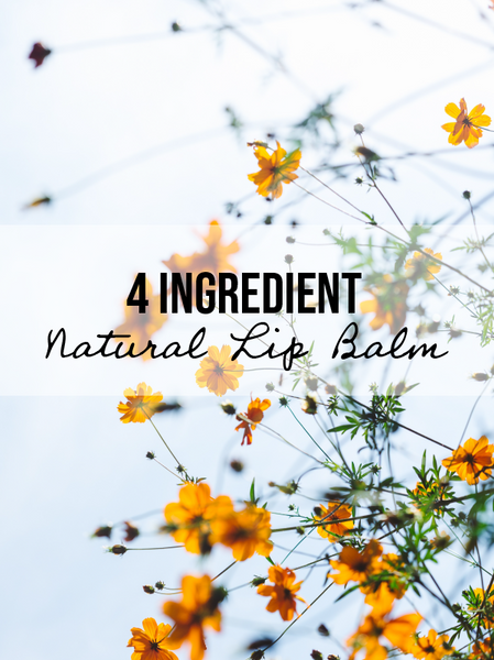 Naked Beauty: DIY Lip Balm