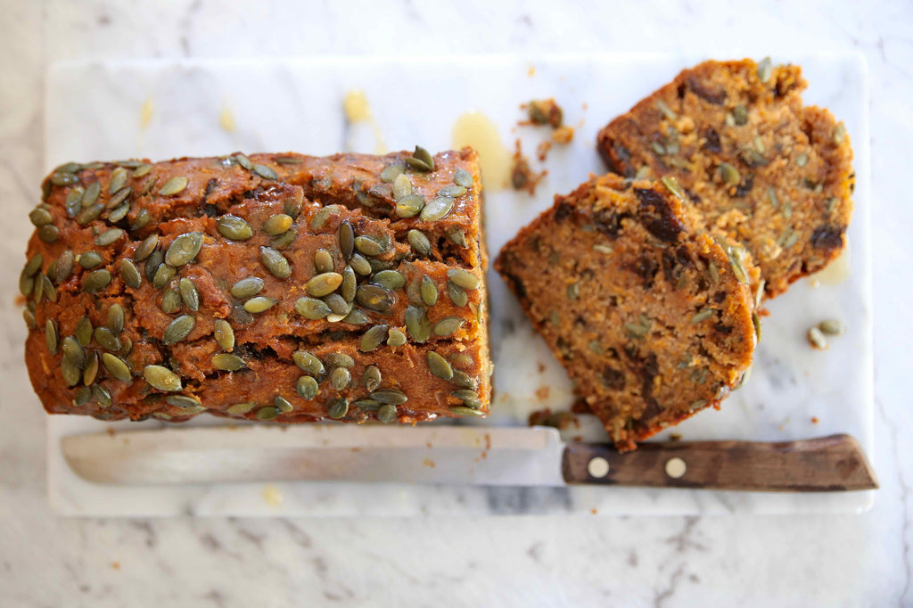 Pumpkin Prune Loaf
