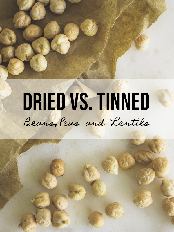 Why Buy Dried Pulses? Tinned Vs. Dried