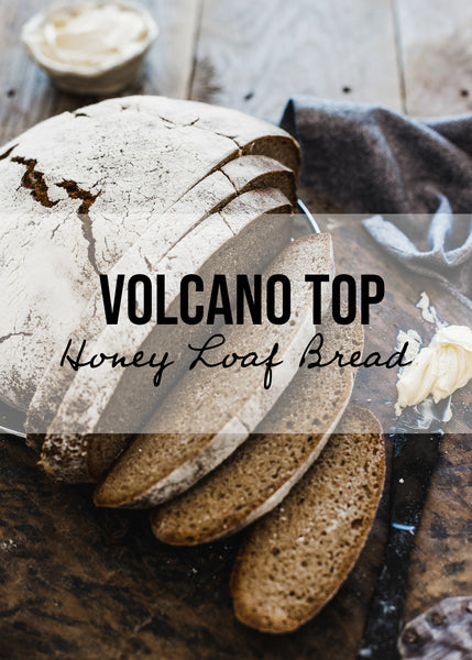 Volcano Top Honey Loaf Recipe