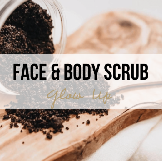 'Glow Up' Face & Body Scrub