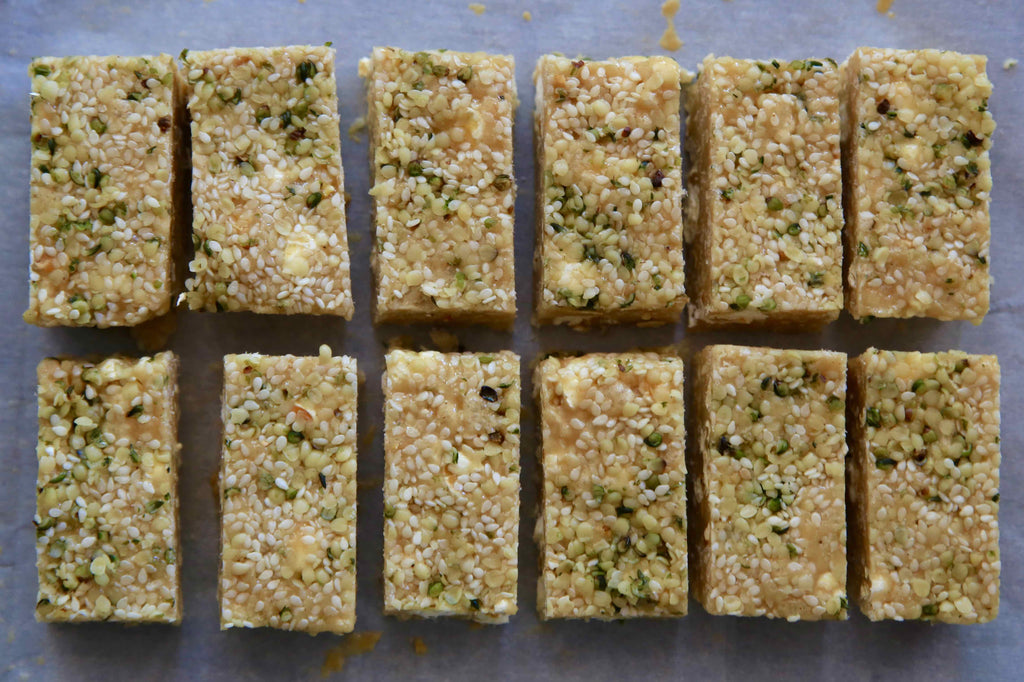 Tahini Pop Bars