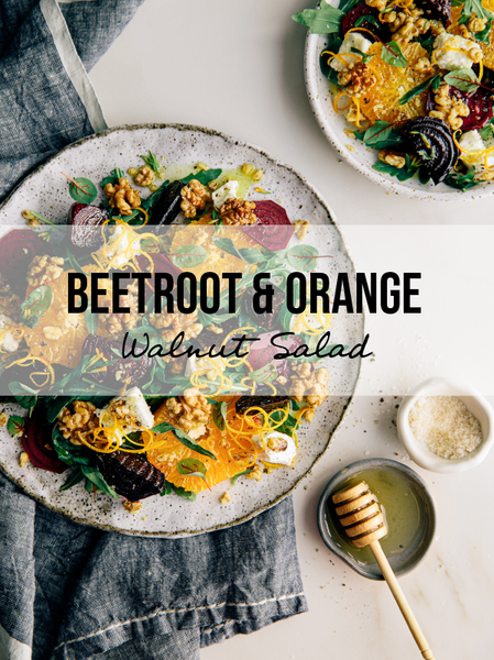 Beetroot Orange Walnut Salad