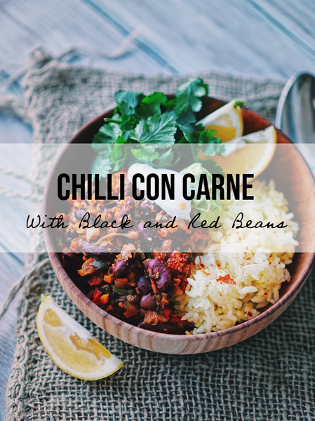 Black and Red Bean Chilli Con Carne