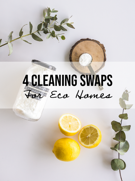 4 Natural Cleaning Swaps For An Earth-Loving Home