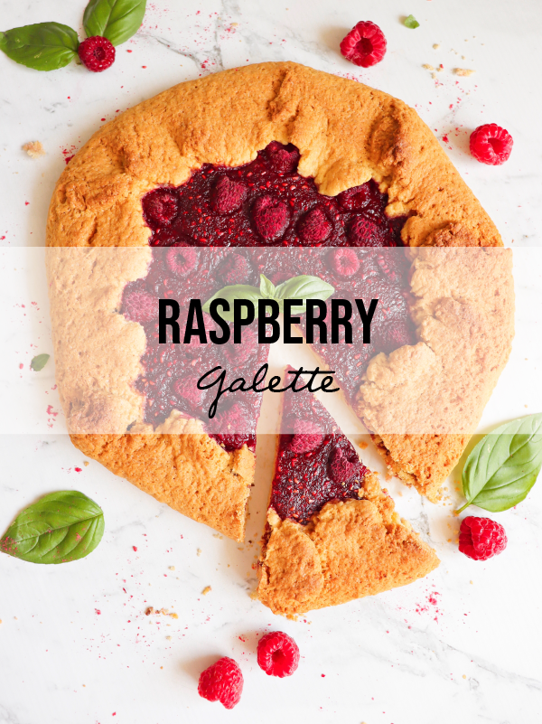 Super Simple Raspberry Galette