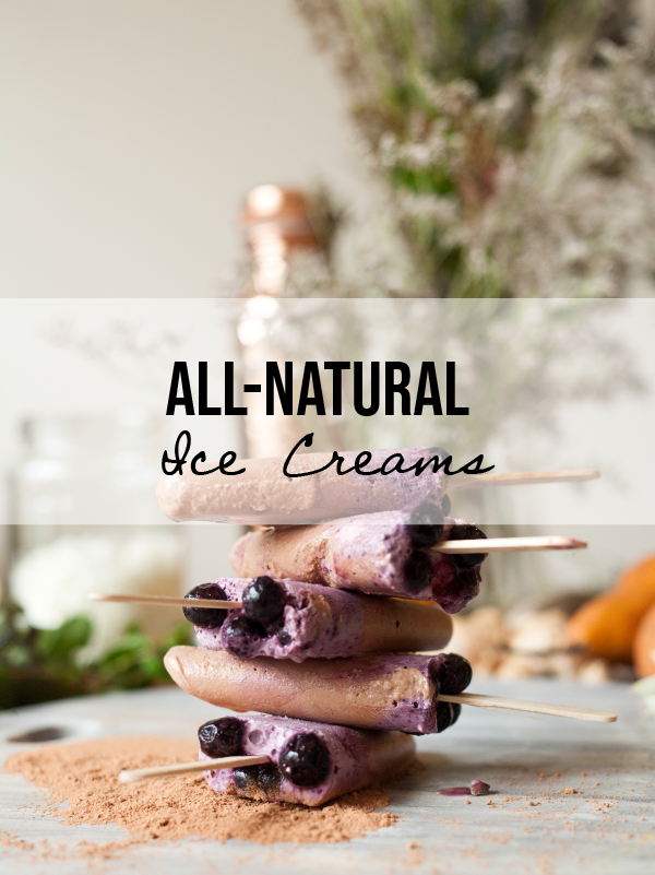 Superfood Choc-Berry Ice Cream