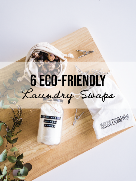 6 Natural Laundry Swaps
