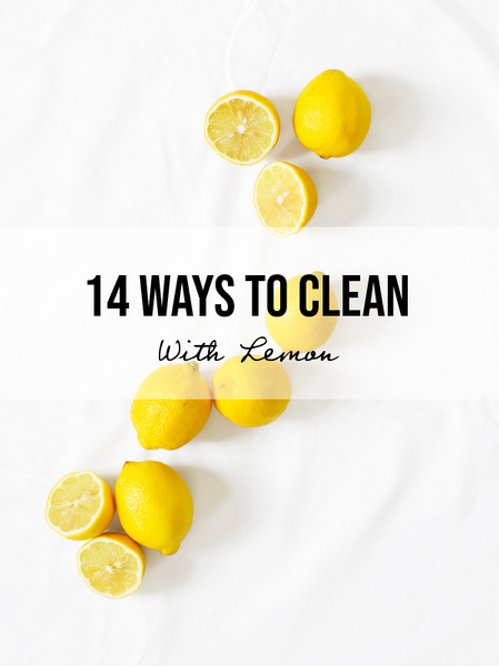 14 Ways To Clean Your House With Lemon