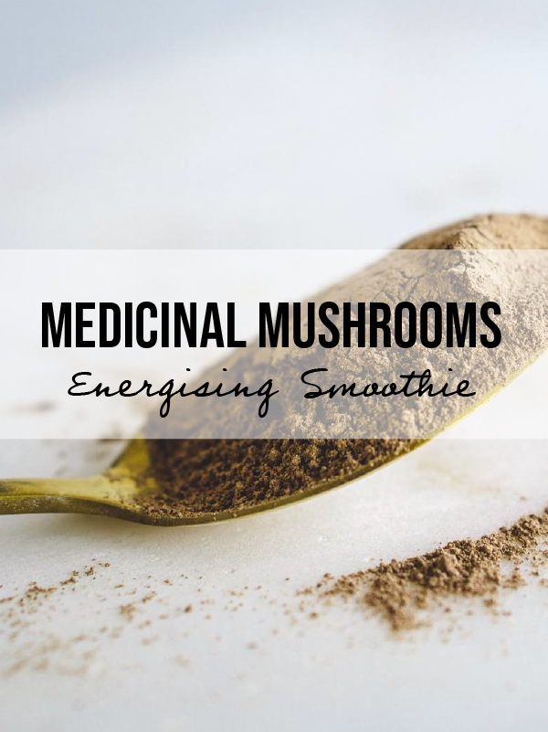Medicinal Mushrooms: Energising Chocolate Salted Caramel Smoothie