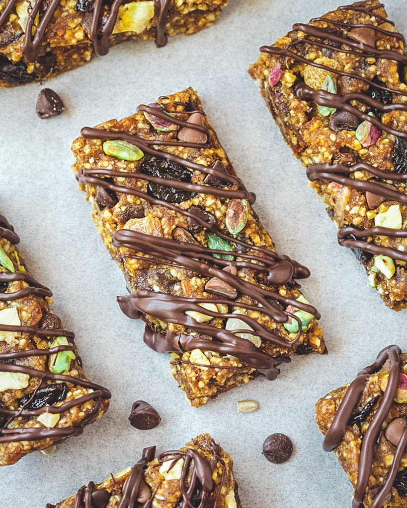 Trail Mix Bliss Bars (or Balls)