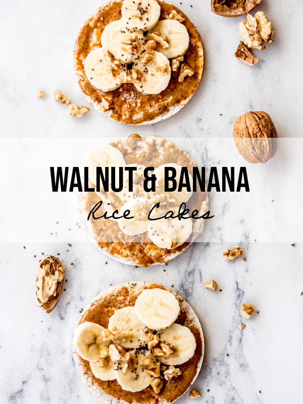 Walnut And Banana Rice Cakes