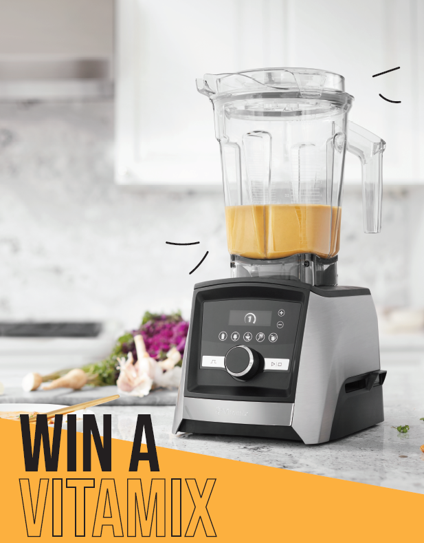 Win a Vitamix Ascent With Naked Foods!