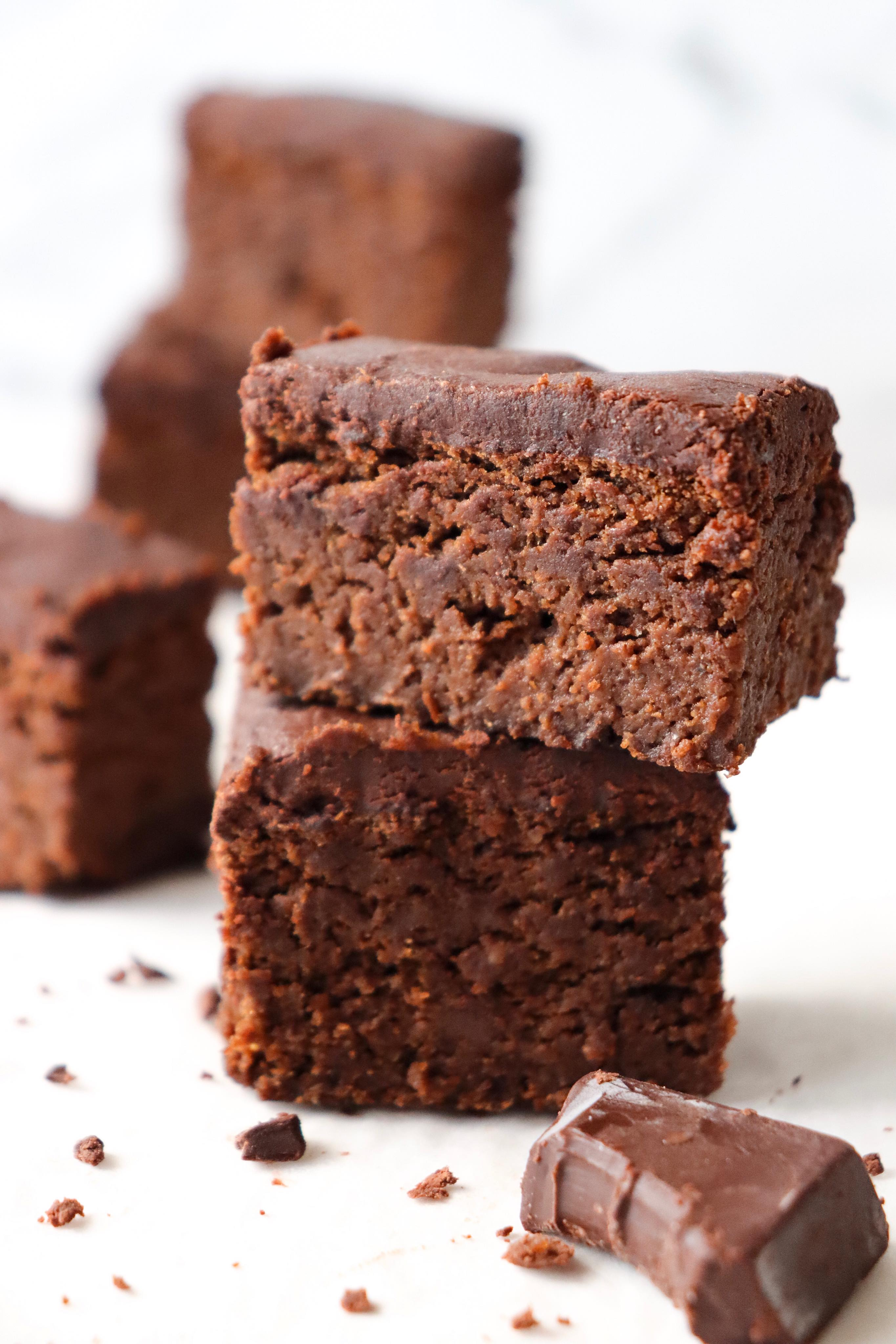 mocha protein brownies coffee healthy recipe