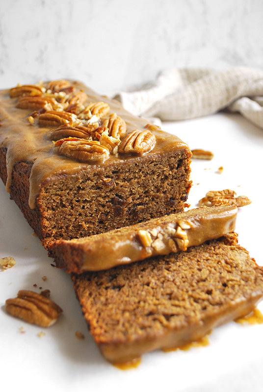 Sticky Date and Pecan Pudding Loaf naked foods