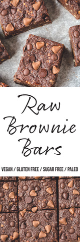 Brownie Bars Naked Foods Raw Recipe