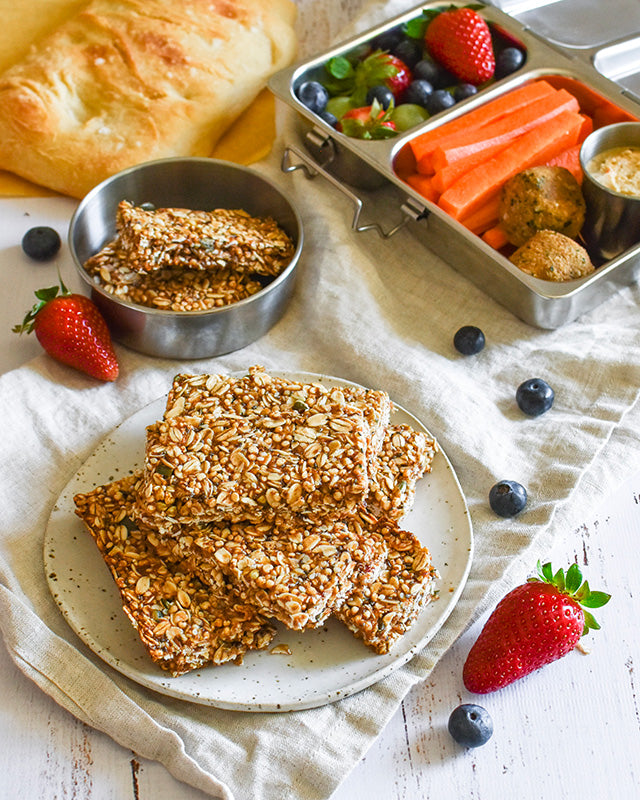 nut free muesli bar recipe