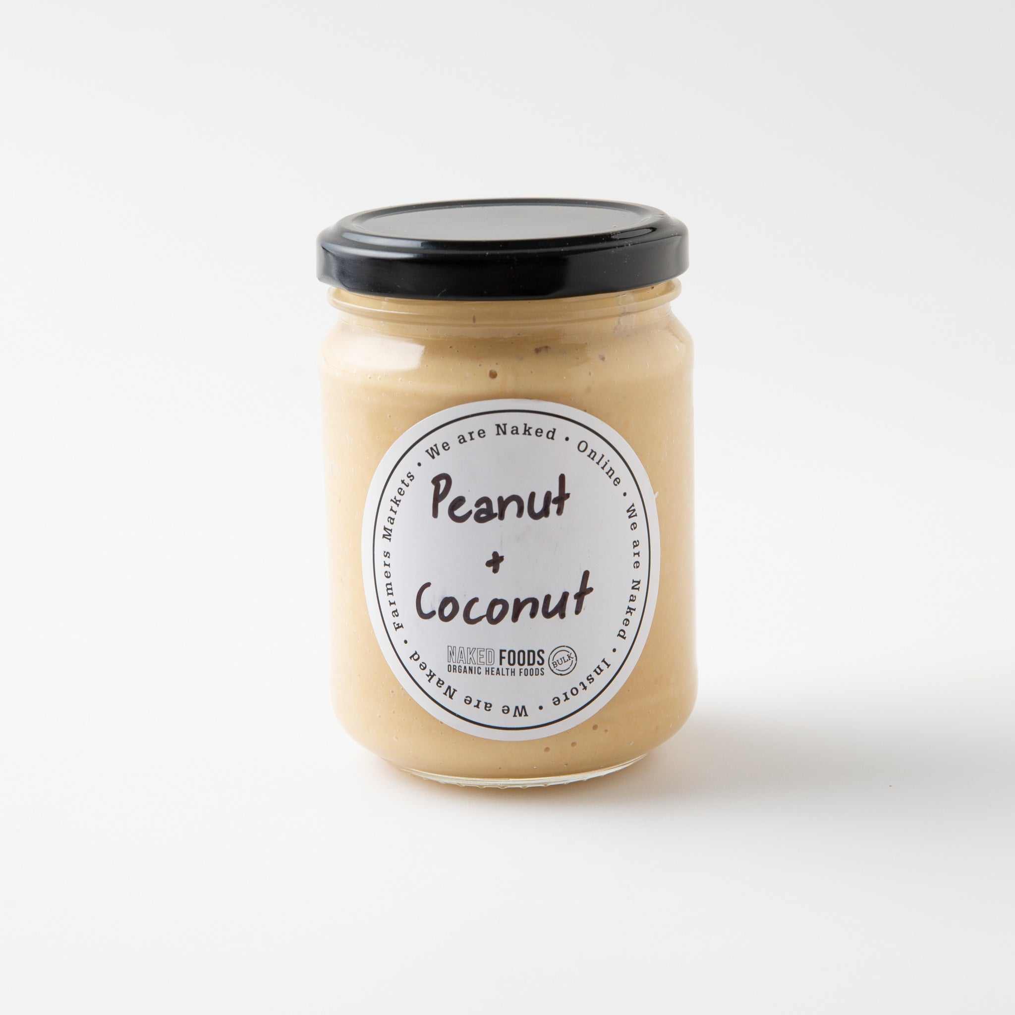 Peanut And Coconut Butter