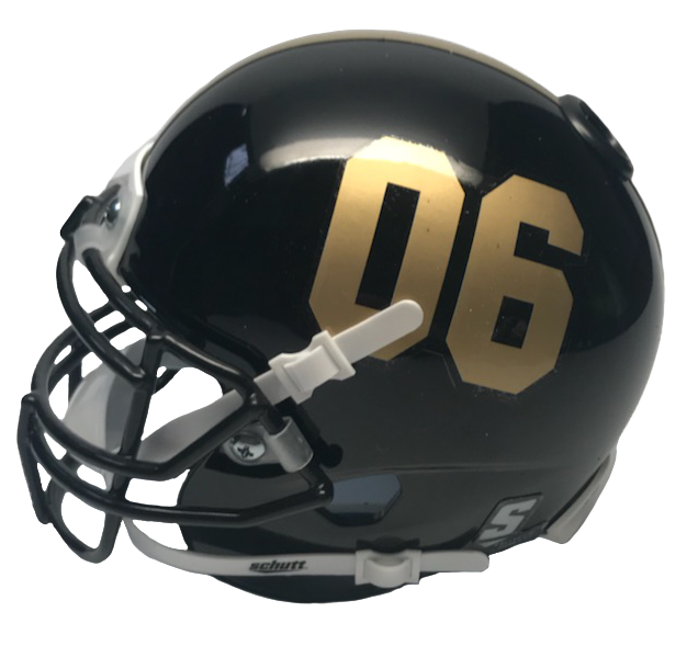 Alpha Phi Alpha Miniature Football Helmet