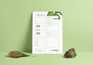 Facebook Advertising Planner Pad