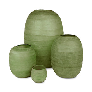 Belly Vase Large - Moss Green