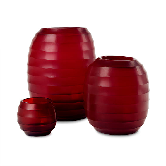 Belly Vase XL - Red