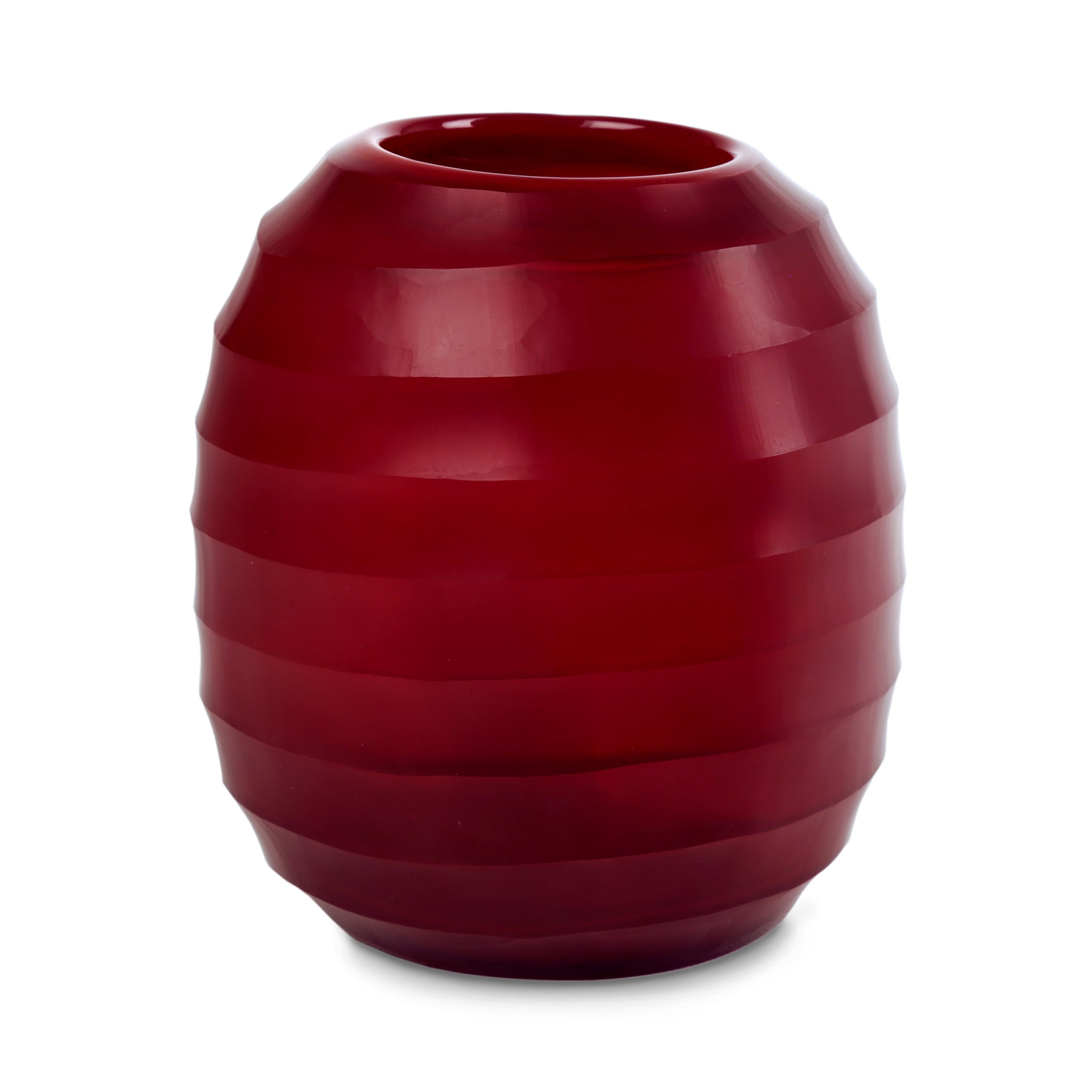 Belly Vase Large - Red