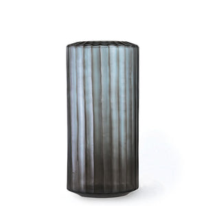 Omar Large Vase - Indigo/ Smoke Grey