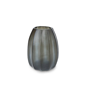 Koonam Medium Vase - Indigo/ Smoke Grey