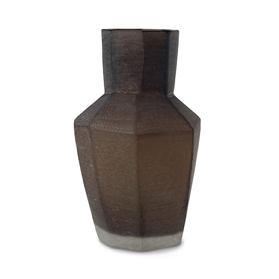 Kahulu Medium Vase - Dark Brown