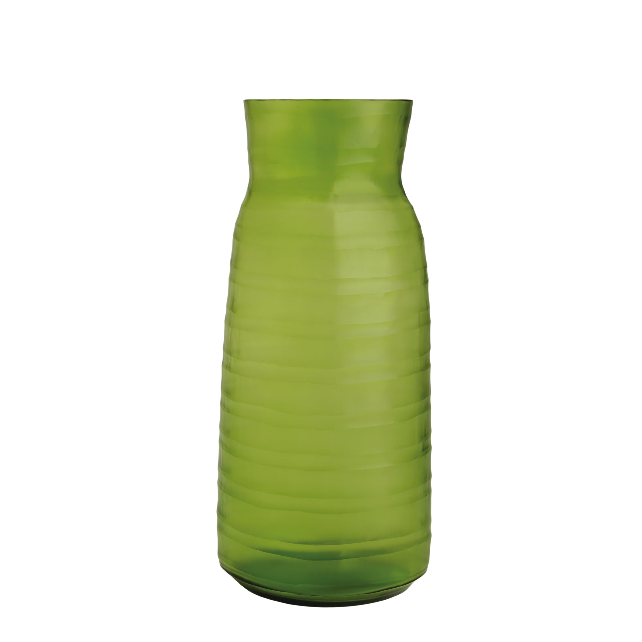 Mathura Tall Vase - Lemon Green