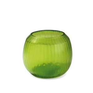 Malia Medium Vase - Lemon Green
