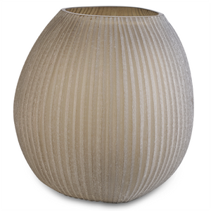 Nagaa Medium Vase - Smoke Grey