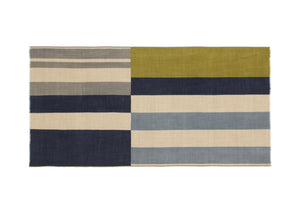 French 100% Wool Scarf - 375, Olive Green